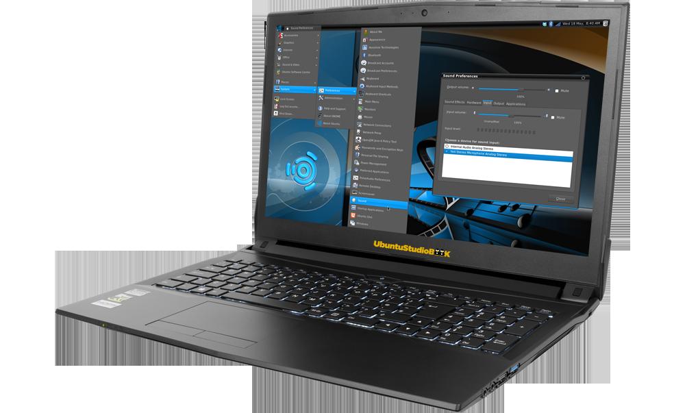 UbuntuStudio NoteBook 15,6