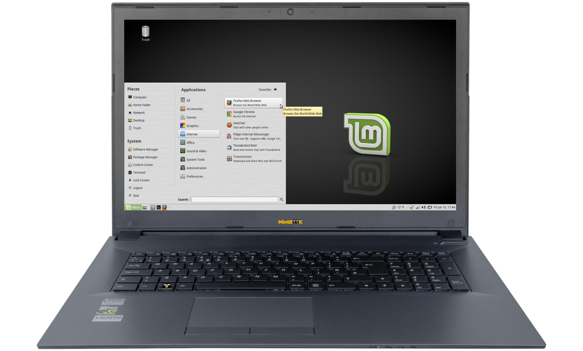 Linux-Mint NoteBook 17.3