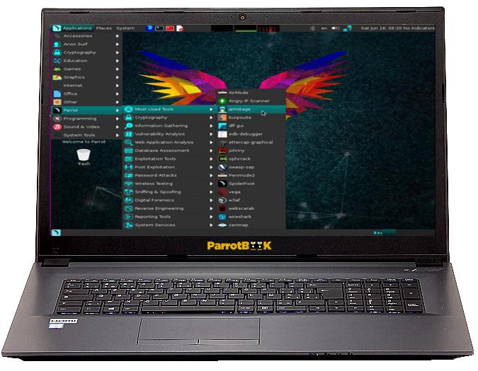 Parrot NoteBook 14