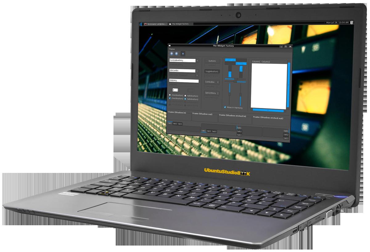 UbuntuStudio NoteBook 14